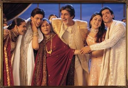 Кадр из фильма Kabhi Khushi Kabhi Gham